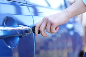 car door unlocking